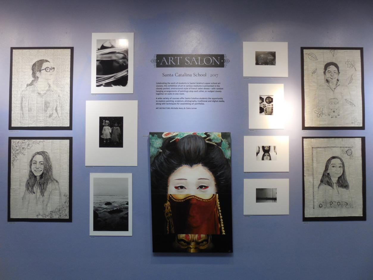 Youth Gallery - Fall 2017 - Santa Catalina School  Art Salon