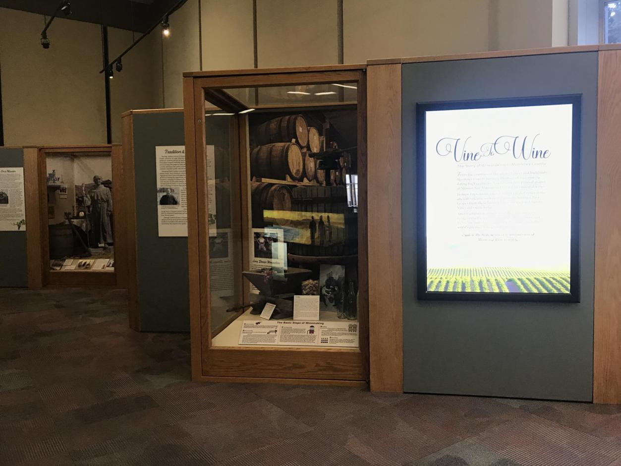 Mezzanine Gallery - Fall 2019 - Vine to Wine