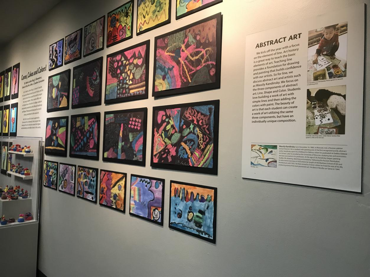 Youth Gallery - Fall 2018 - MLK SOA Cones, Cakes and Colors!