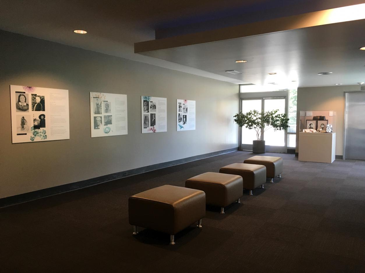 Standing Exhibit - Pioneering Women of Monterey County